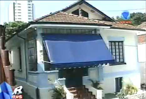 Casa que abrigava a Escola Base, na Aclimação, em São Paulo - foto: reprodução