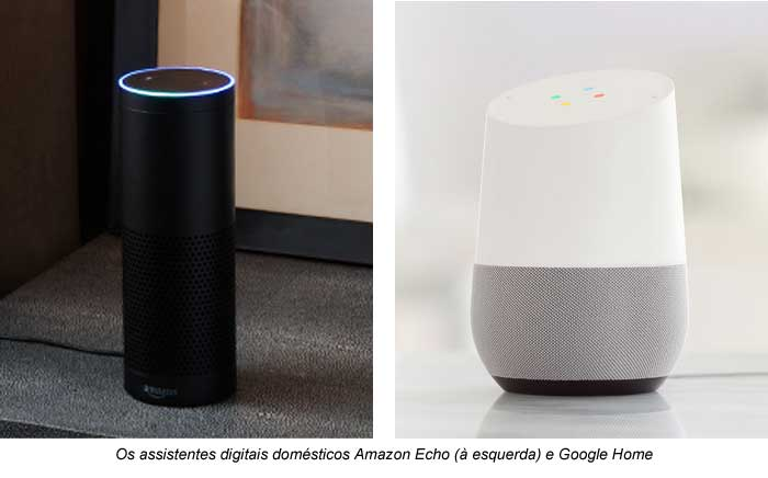Amazon Echo e Google Home