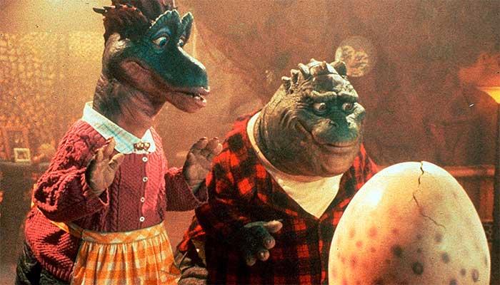 """O personagem Dino da Silva Sauro, de """"A Família Dinossauro"""": quem chega primeiro pode ter uma visão privilegiada dos fatos – Foto: divulgação"""