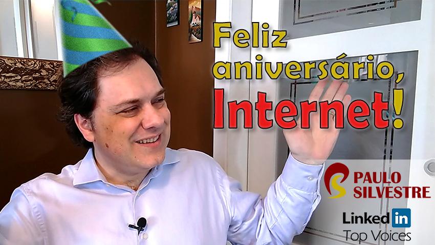 Feliz aniversário, Internet: 50 anos!