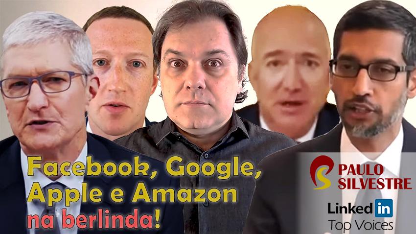 Facebook, Google, Apple e Amazon na berlinda