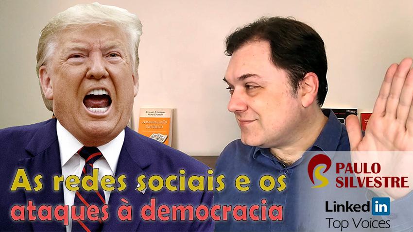 A responsabilidade das redes sociais nos ataques à democracia