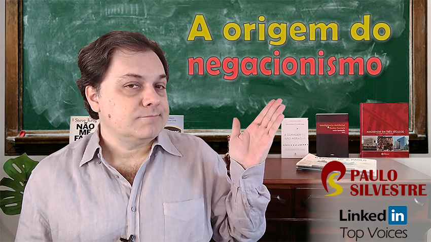 A origem do negacionismo